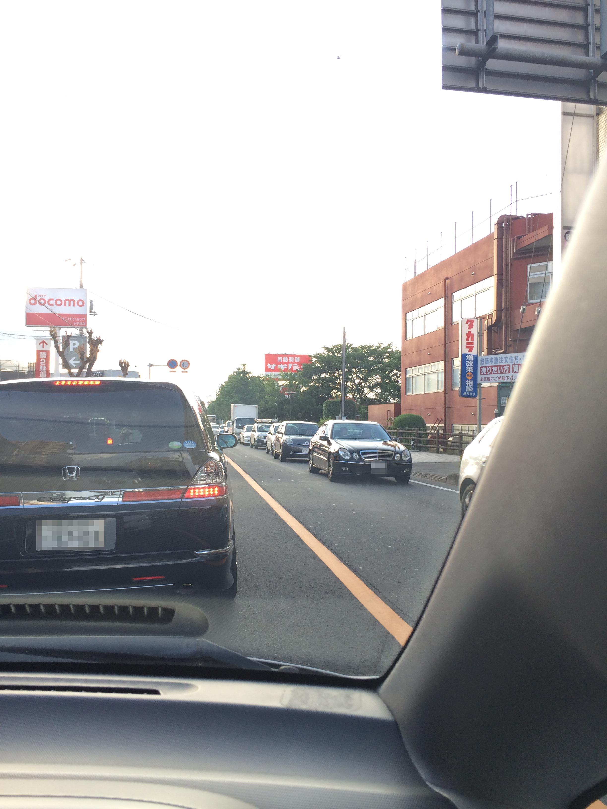 所沢の道路状況の実情について