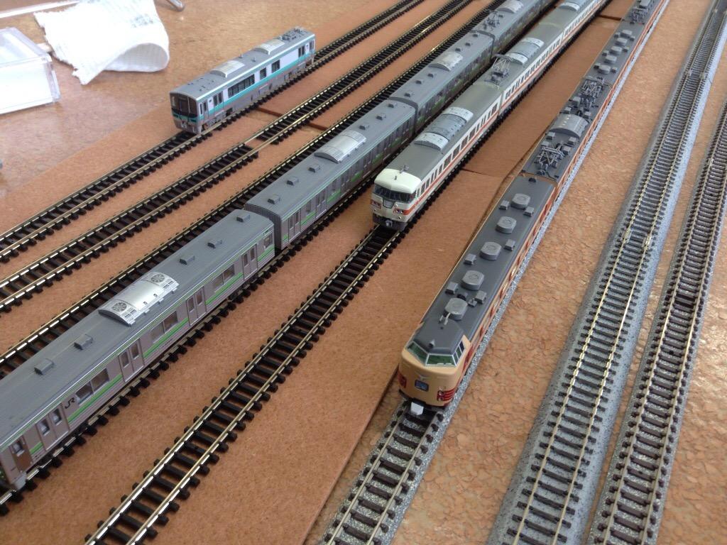 【過去の鉄道模型走行会】2013年例会の様子