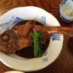 【アイモバリアルグルメツアー】下田/南伊豆エリア名物金目鯛の煮付をいただく