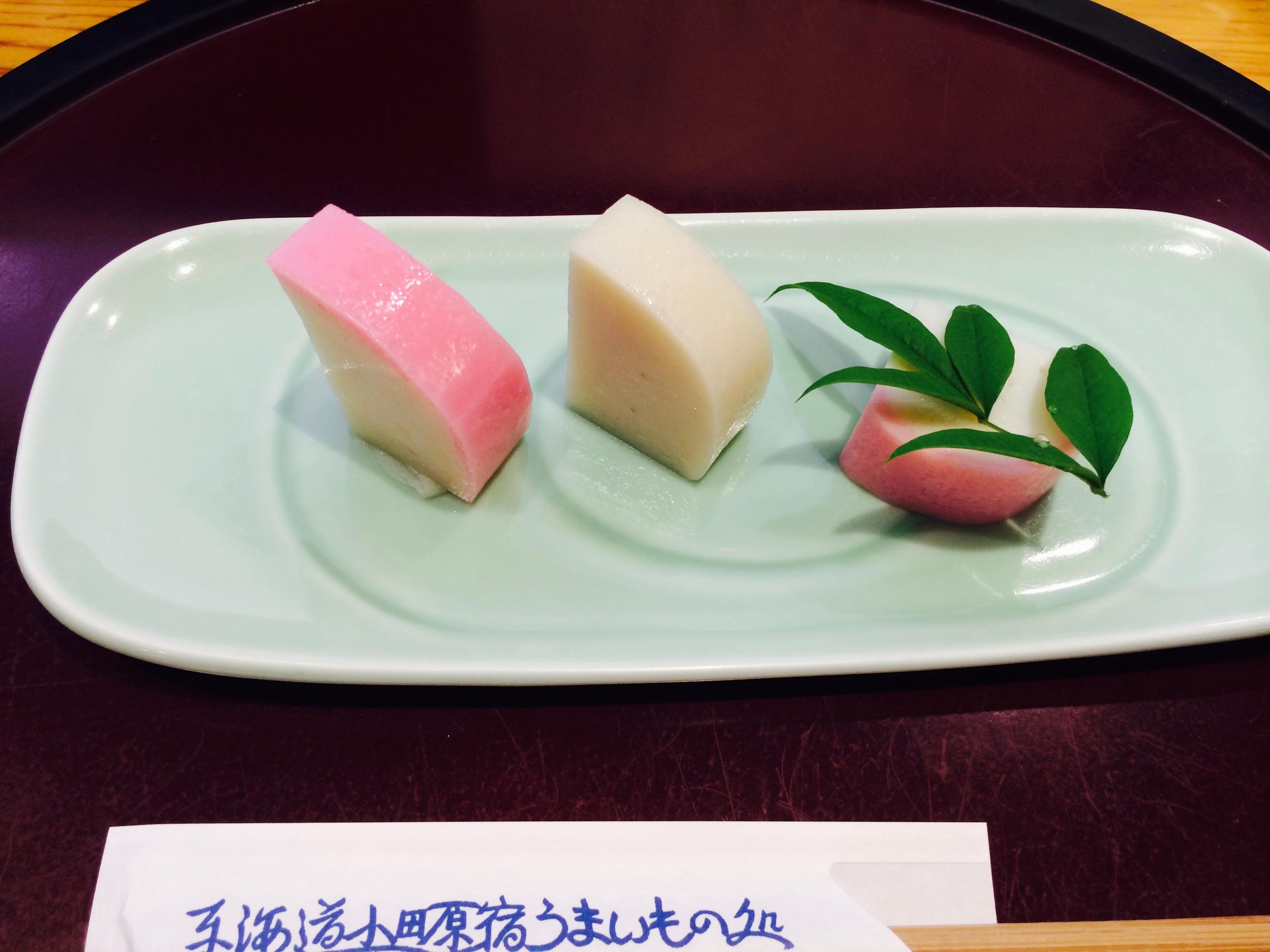 【アイモバリアルグルメツアー】小田原エリアのかまぼこを食べ比べてみた