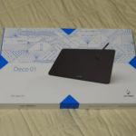 【レビュー】XP-PENのDeco01の使い勝手を検証する
