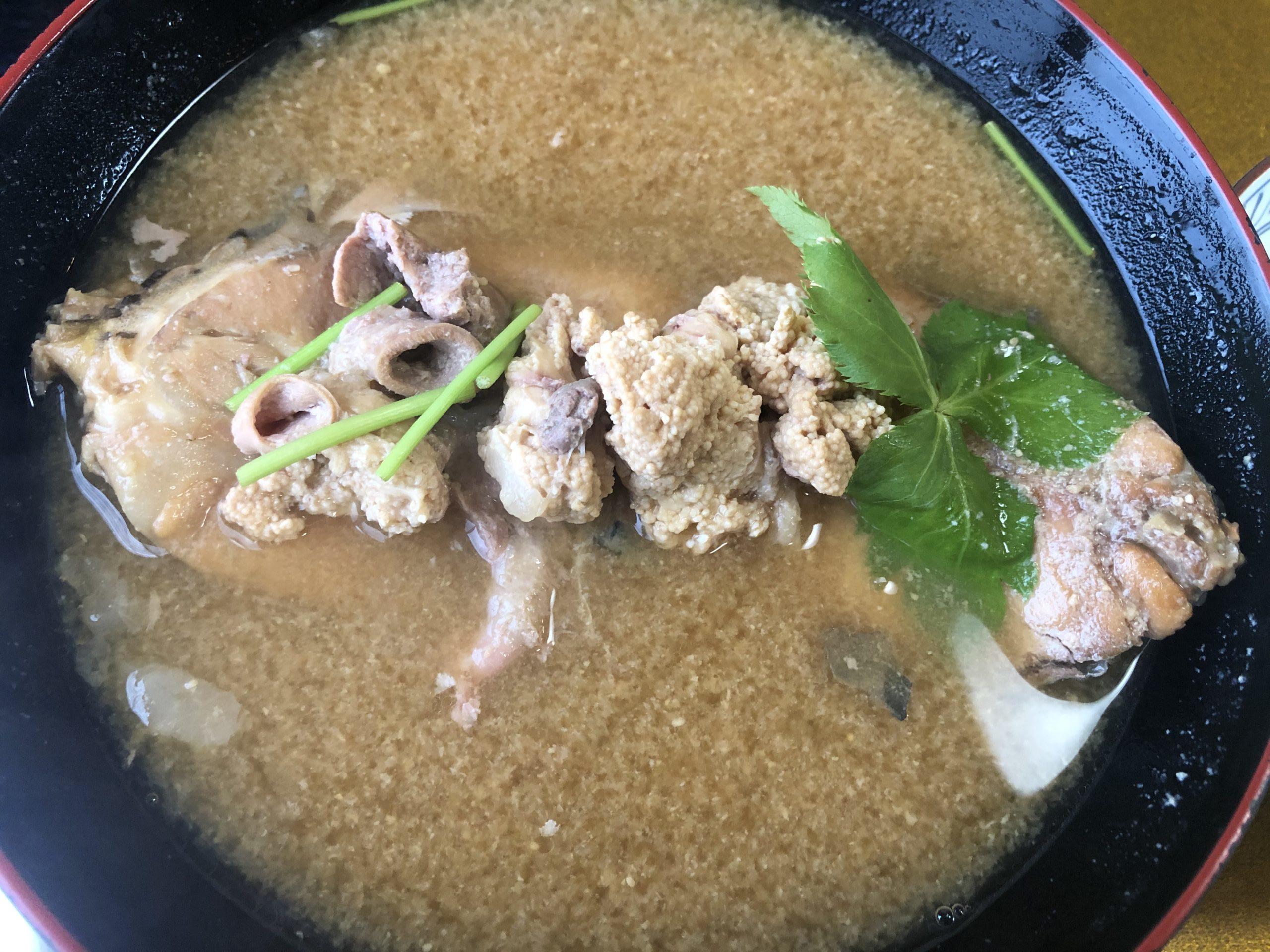 【アイモバリアルグルメツアー】上田/菅平エリアの鯉こくを食す