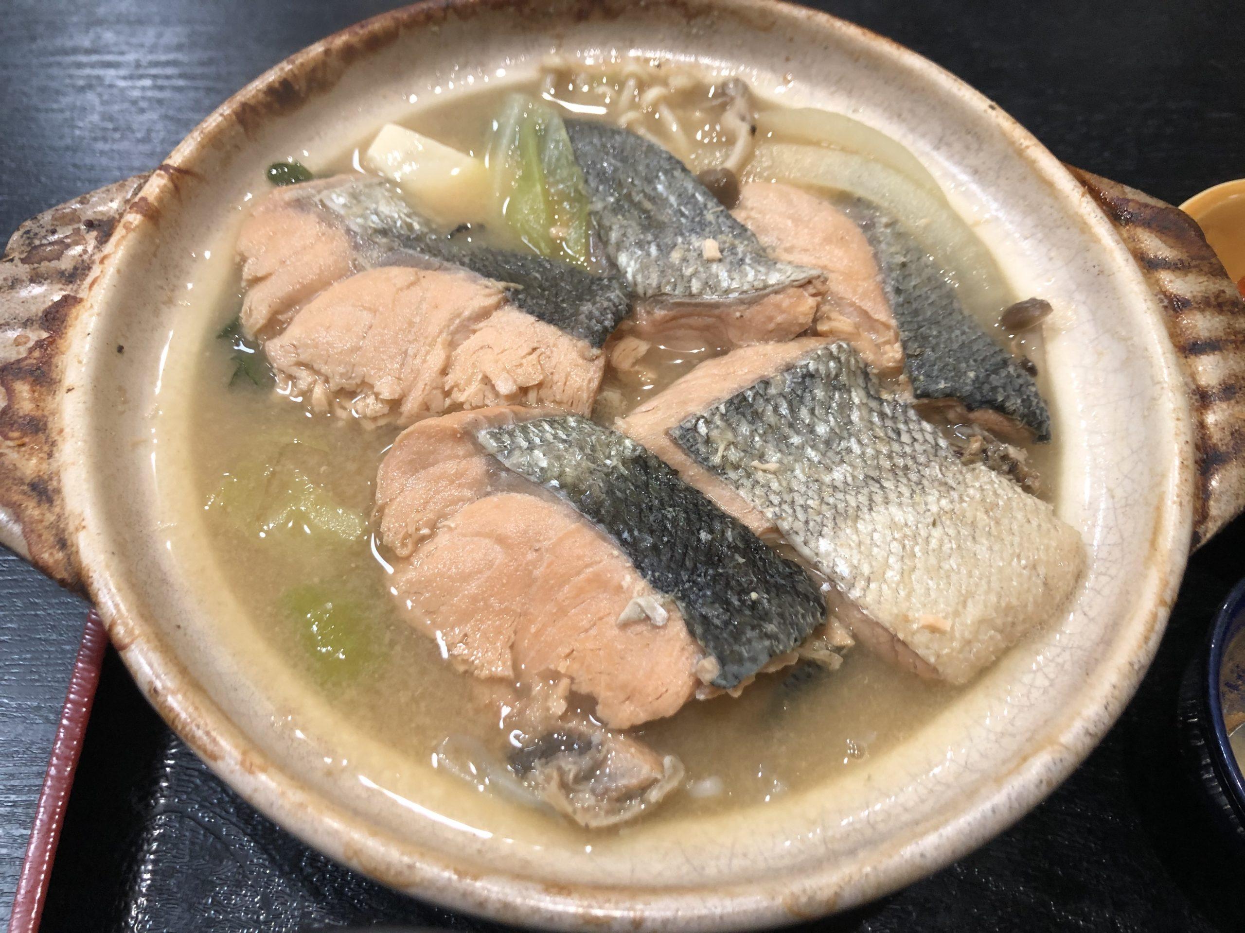 【アイモバリアルグルメツアー】江別/石狩エリアの北海道郷土料理石狩鍋を喰らう